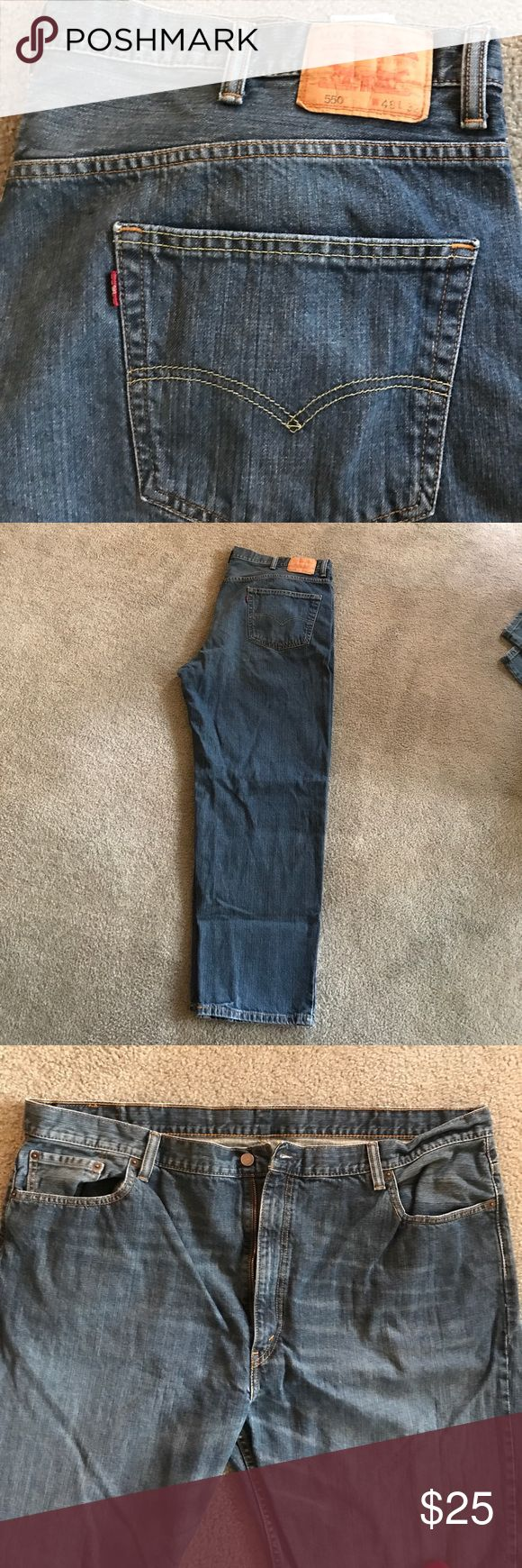 Levi 550 Jeans 48x32 Barely worn, like-new condition! Levi's Jeans Relaxed