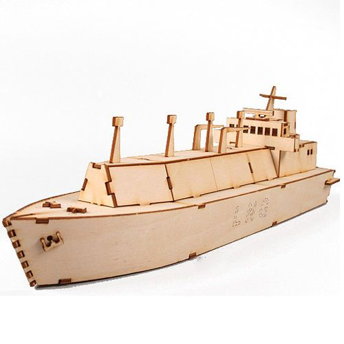 Wooden Model Ship Kits Junior Series- Scale models LNG Carrier