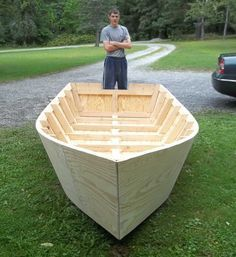 Can You Really Build Your Own Small Boat? ~ Woodworking Tips See More at http://ift.tt/1qJd3Hz