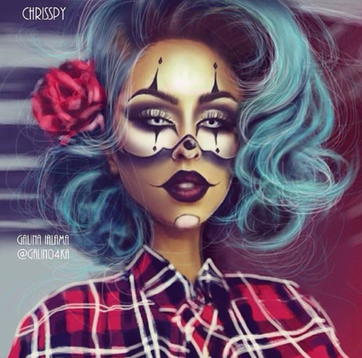 Gangsta Clown by @crisspy| Be Inspirational ❥|Mz. Manerz: Being well dressed is a beautiful form of confidence, happiness & politeness