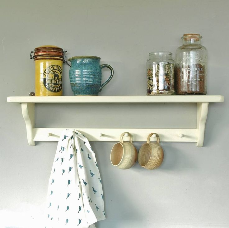 Are you interested in our Open Back Shelf? With our Vintage painted shelf and peg rail you need look no further.