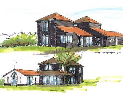Breddels Architecten - 0581 - 'Het zwarte huis', Nieuwe Niedorp