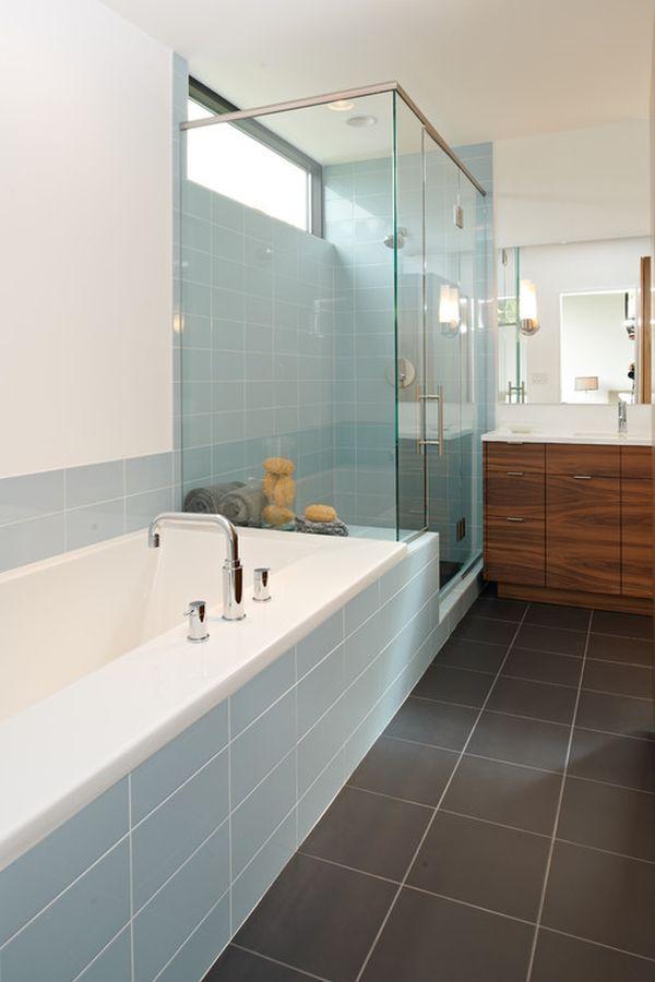 Serene blue bathrooms ideas inspiration grey design for Serene bathroom ideas