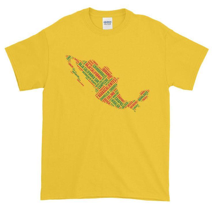 Estados de Mexico Men's Short Sleeve T-Shirt