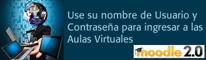 Desde el 30 de enero, todos los estudiantes deben acceder a la plataforma de aulas virtuales Moodle 2 ingresando su código estudiantil en el campo Usuario y su documento de identidad en el campo contraseña. Una vez hayan iniciado sesión, podrán personalizar su contraseña en las opciones de configuración del perfil.