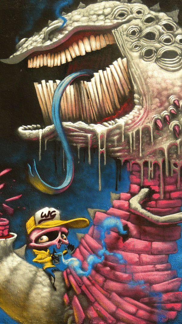 Street Artist: DULK in Bologna