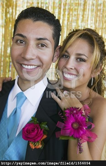 Image detail for -stock image of smiling prom couple
