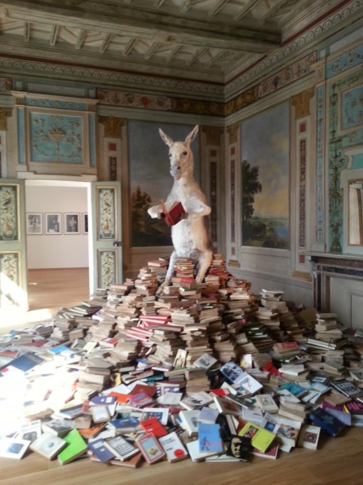 """""""L'ARTE È UN ROMANZO"""", LA MOSTRA CHE INAUGURA IL NUOVO PALAZZO DELLA PENNA - http://tuttoggi.info/articolo/54364/"""