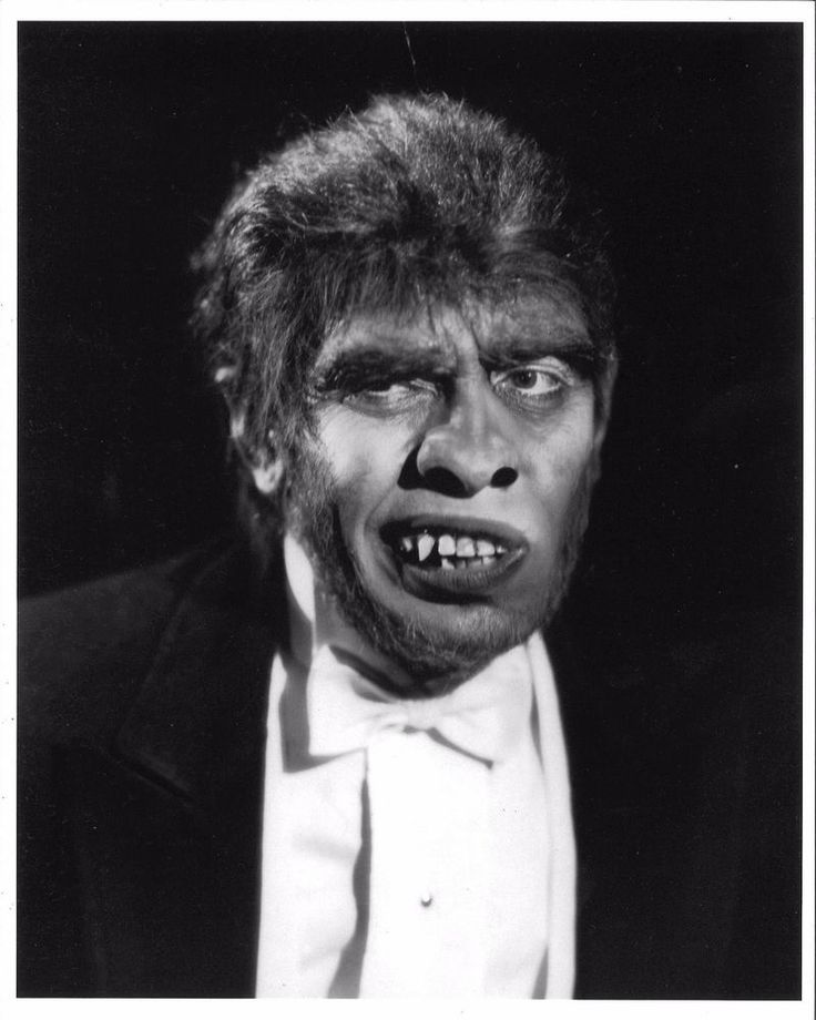 *DR. JEKYLL AND MR. HYDE (1931) Fredric March as Mr. Hyde Close Shot Matte 8x10