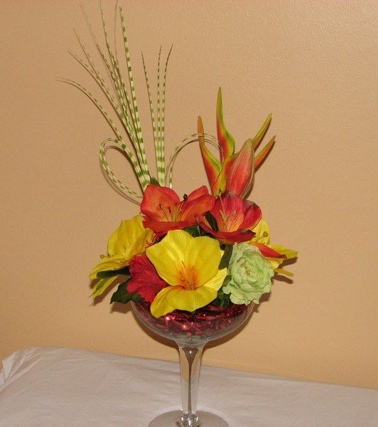 Best tropical floral arrangements images on pinterest