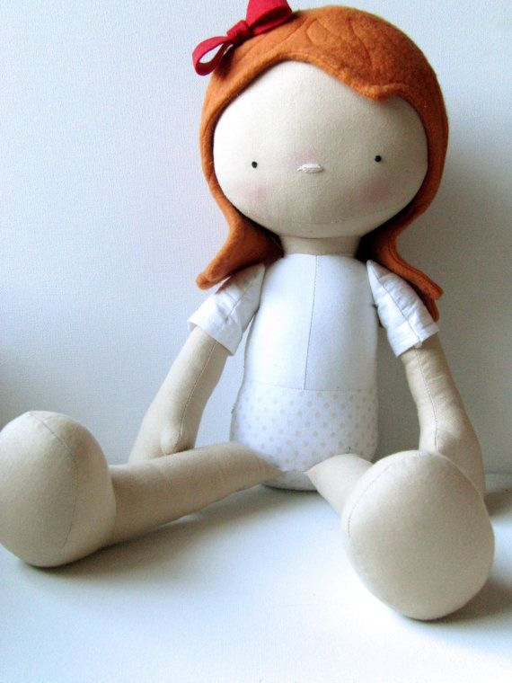 Delightful Doll Sewing Pattern by NimblePhish on Etsy