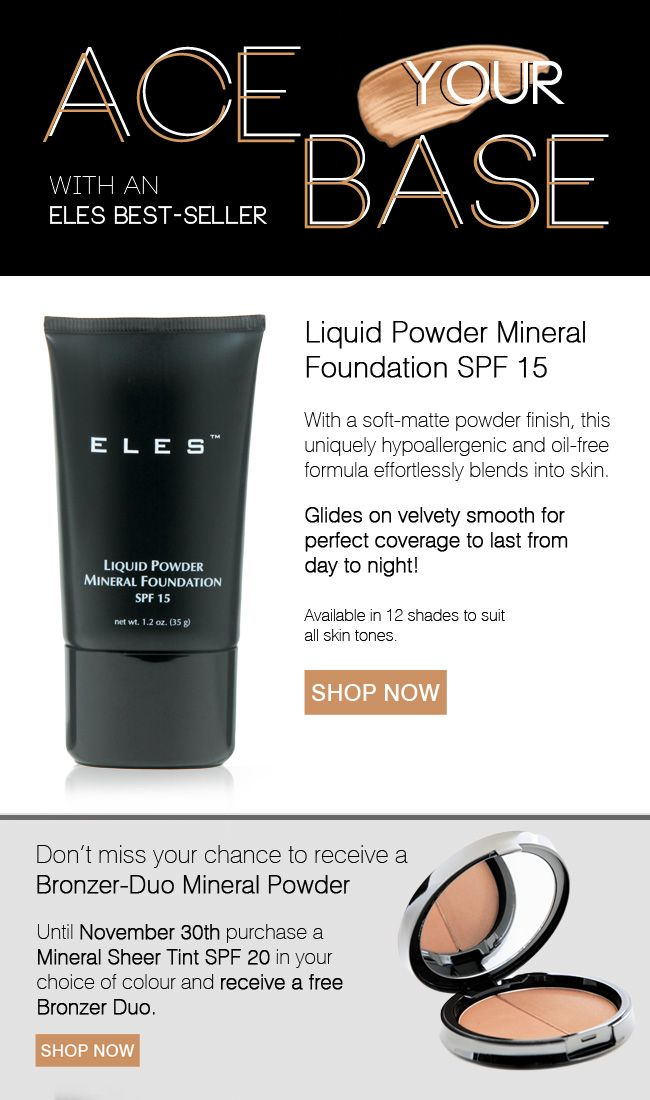 Here's what's happening, free bronzer! $66.50  http://www.elescosmetics.com/boutique/Mineral-Sheer-Tint-SPF-20.html