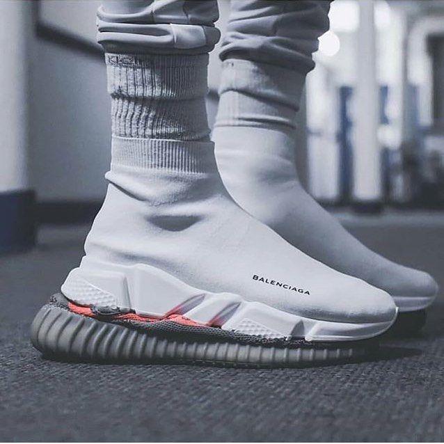 adidas de yeezy off black white