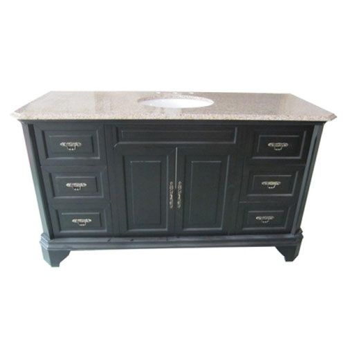 Mahogany Birch Single 60-Inch Vanity