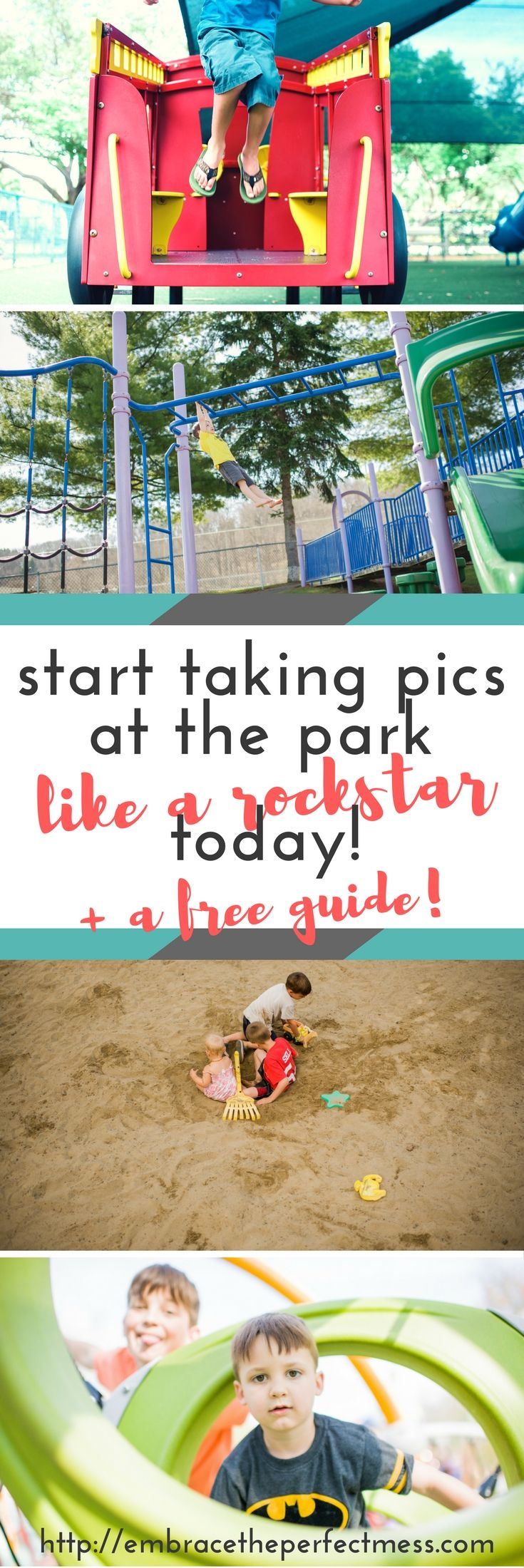 Great photo tips for moms | tips for taking pictures of kids | How to take better pictures of your kids at the playground