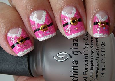 Mrs.Claus Nails