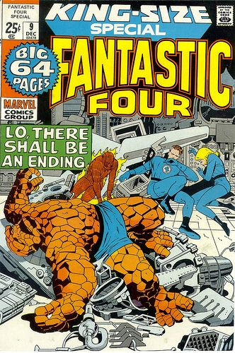 Fantastic Four King-Size Annual, Lo There Shall Be An Ending