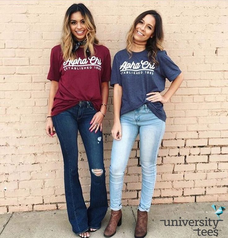 Friends are 4ever! | Alpha Chi Omega | Made by University Tees | universitytees.com