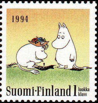 Mumin stamp