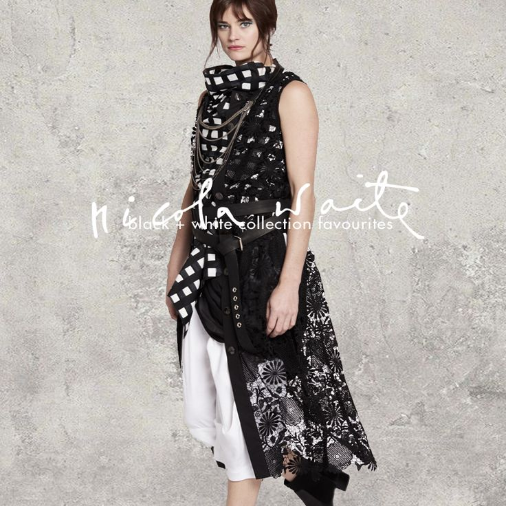 Spring collection favourites - the most popular styles in black + white...