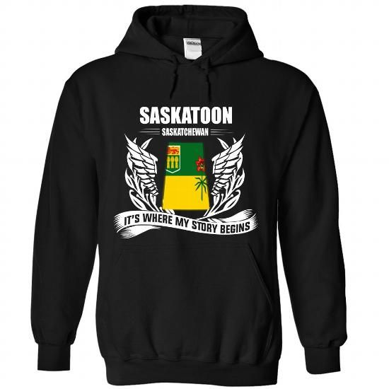 SASKATOON - #graduation gift #fathers gift. GUARANTEE => https://www.sunfrog.com/No-Category/SASKATOON-3619-Black-Hoodie.html?68278