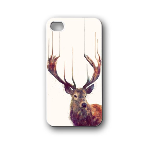 red deer - iPhone 4,4S,5,5S,5C, Case - Samsung Galaxy S3,S4,NOTE,Mini, Cover, Accessories,Gift