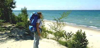 Backpacking Pictured Rocks National Lakeshore in Michigan's Upper Penninsula