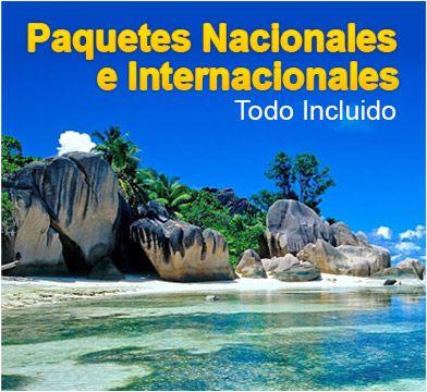 Paquetes Nacionales e Internacionales Todo Incluido. Ver mas en http://www.viajeprogramado.com/index.php