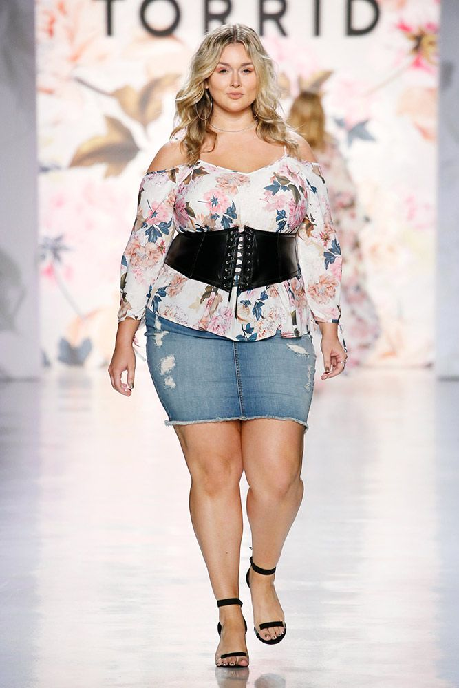 dbd4daa4666 Plus-Size Brand Torrid Celebrates Diversity With Its First NYFW Show ...