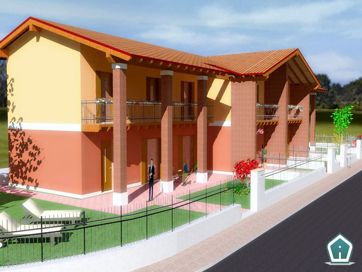 3d Garden Design - design and services: villas exterior rendering