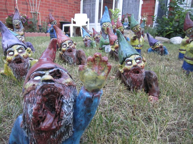 Delightful Zombie Gnomes By RevenantFX