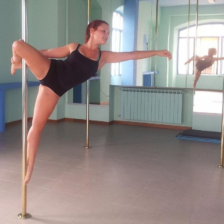 PDY - PoleMove - cupid ankle grab