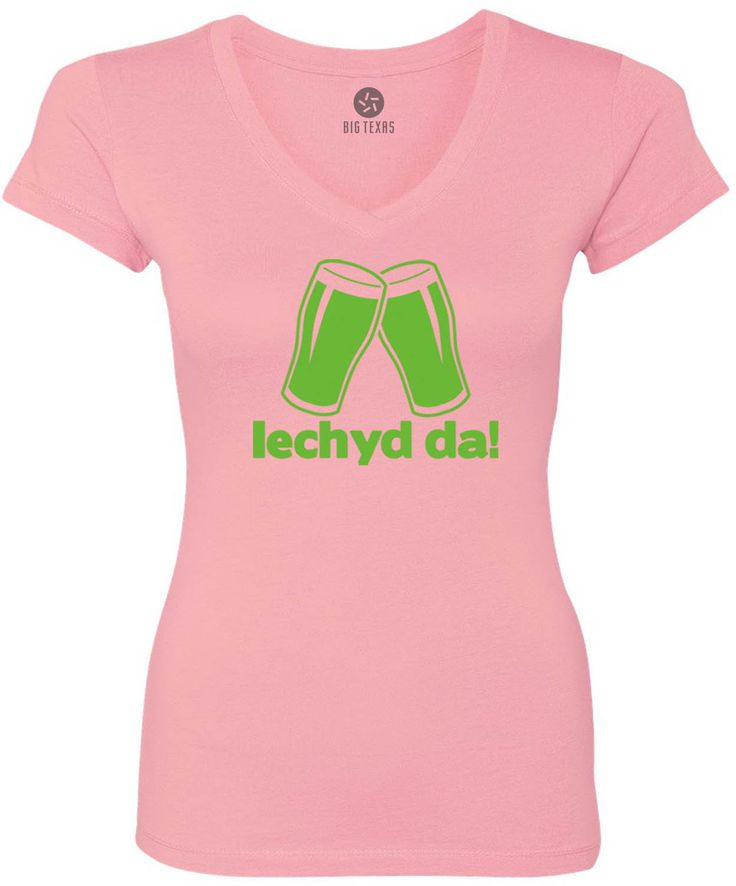Cheers in Welsh (Green) Women's Short-Sleeve V-Neck T-Shirt