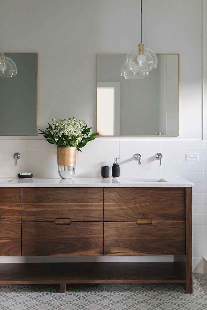 Mid Century Bathroom Vanity Bathroom Vanity Is Walnut Mid Century Bathroom Vanity Ideas Mi Bathroom Vanity Decor Wood Bathroom Vanity Beautiful Bathroom Vanity