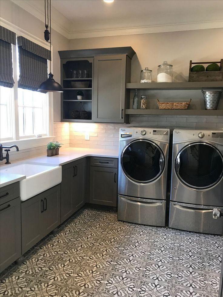 Laundry Room Makeover Drying Racks
