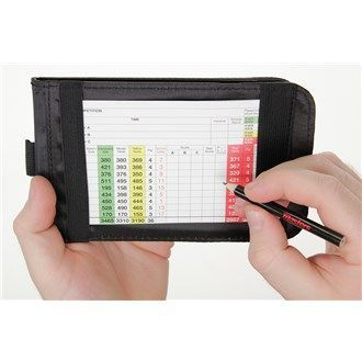 Masters Golf Leather Cardholder Deluxe Leather Score Card HolderIdeal for storing your scorecard ensuring that it stays dry and flat preventing damage. Made from leather material which is soft and of high quality.Dimensions: Closed  http://www.MightGet.com/may-2017-1/masters-golf-leather-cardholder.asp #PlayingABetterGolfGame