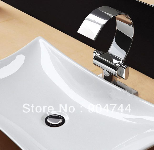 Cheap Basin Marble, Buy Quality Faucet Connector Directly From China Faucet  Tap Suppliers: Beautiful C Shape Waterfall Basin Faucet