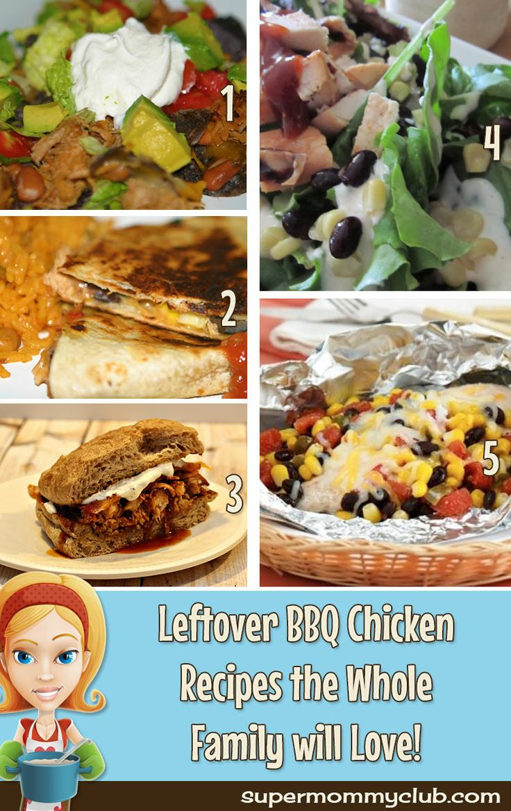 I always have BBQ chicken leftovers and now I know just what to do with them!