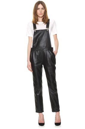 leather dungarees from whistles