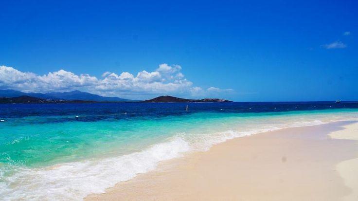 Playa de la Isla de Icacos Fajardo, Puerto Rico