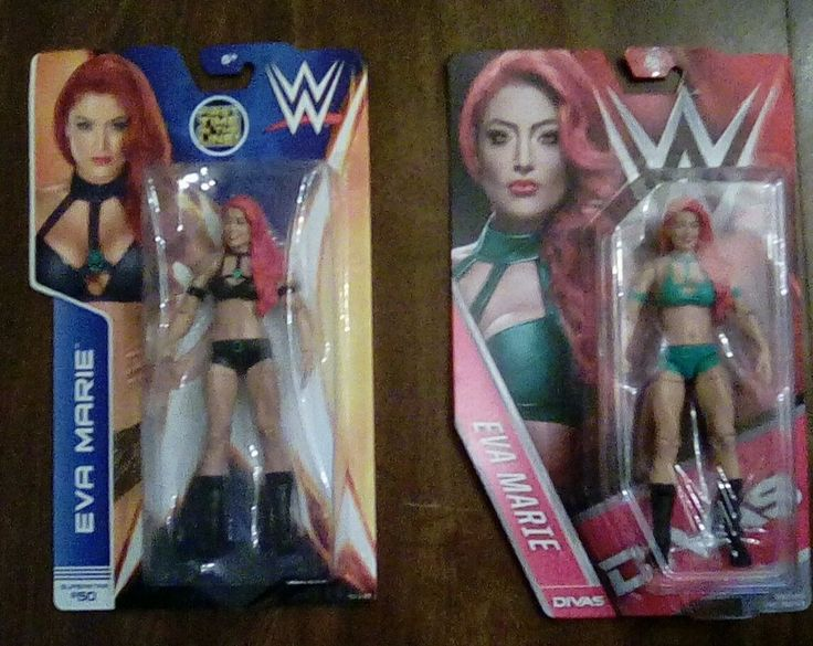 WWE Eva Marie Wrestling Figures First Time In The Line Divas Lot Natalie Coyle