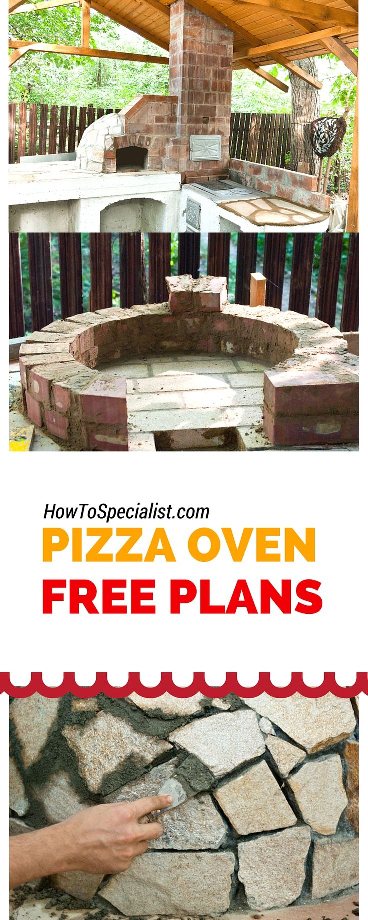 Mediterranean wood fired pizza oven - How To Build A Pizza Oven Tips Ideas Plans And Instructions For A Wood Fired Brick Oven More
