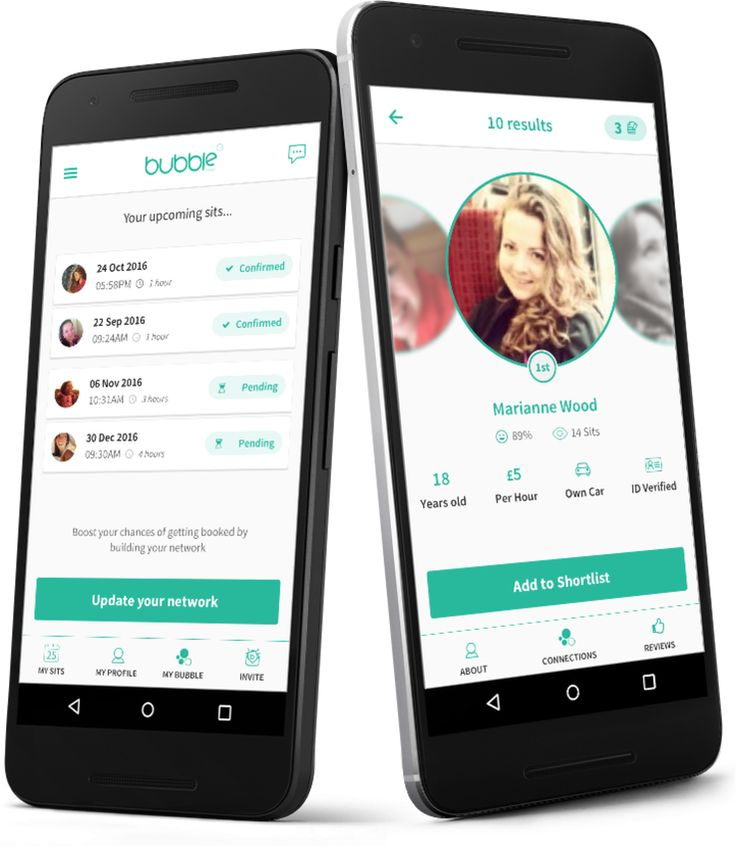 Bubble wants to tap users' social graphs for an on-demand babysitting app | TechCrunch