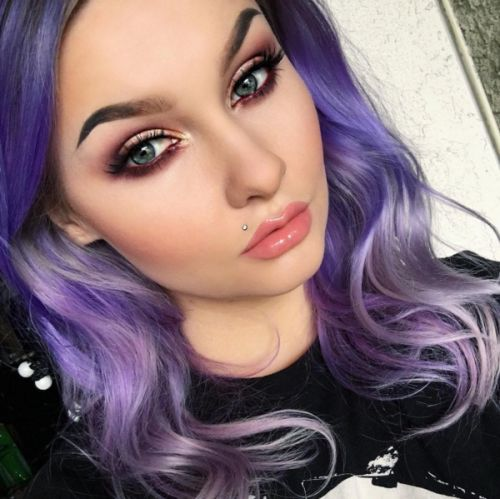 purple hair style makeup for pastel purple hair mugeek vidalondon 2569
