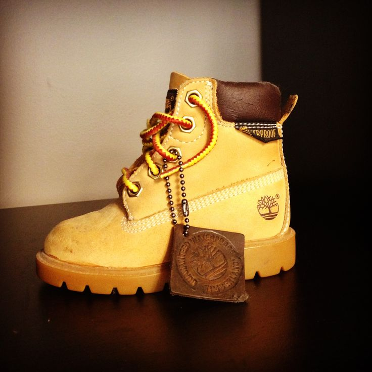 Nobody puts baby in the corner. #timberland