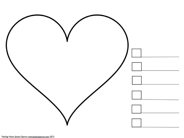 What feelings are in your heart an art therapy exercise for Therapeutic coloring pages for children