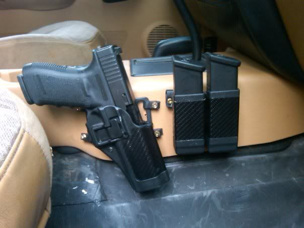 Center Console Gun Mount