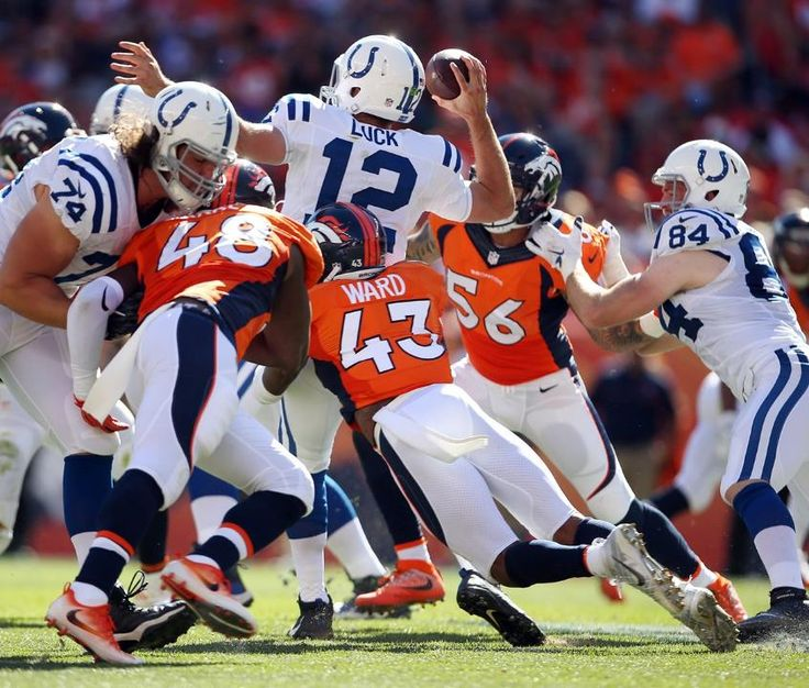 Broncos Corral The Colts