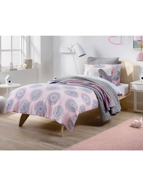 Your little girl will love the Tinker quilt cover set, it features intricate…