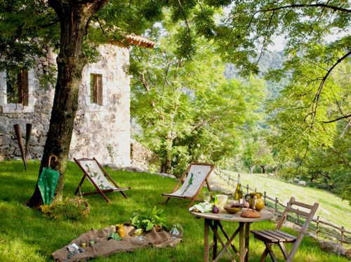Sip wine here and eat cheese baguettes some day we 39 ll go pinterest gardens summer - Countryside dream gardens ...